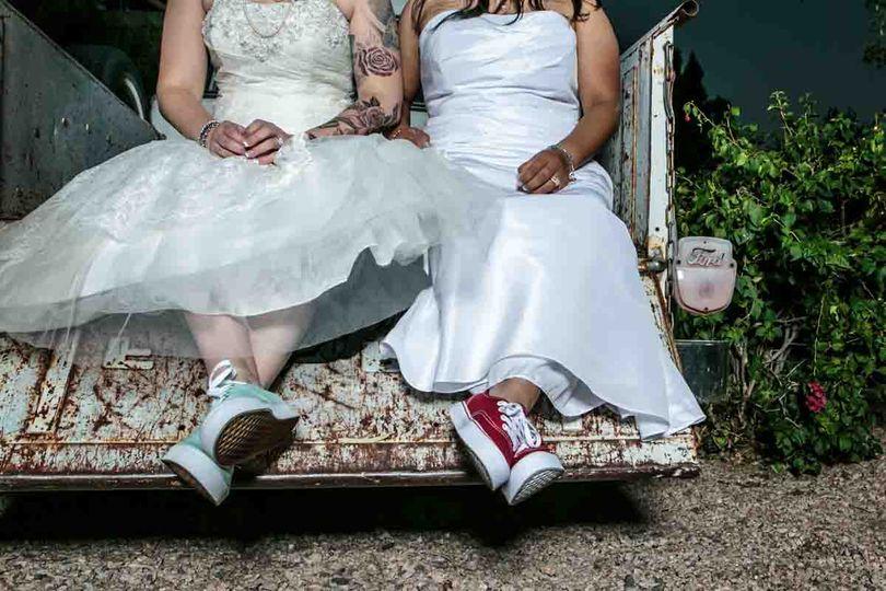 Bridal vans