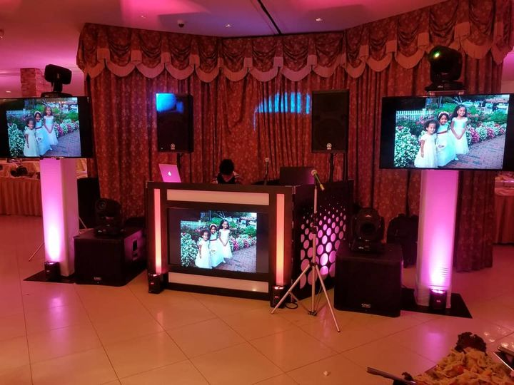 HD screens and sound