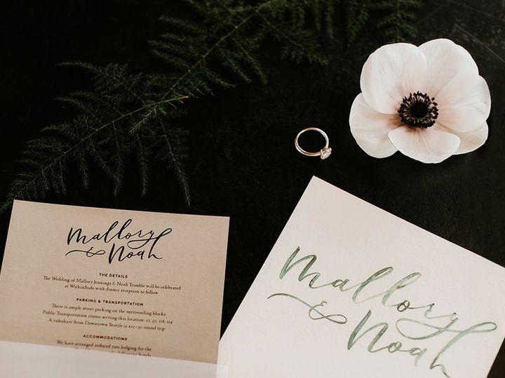 Tmx  Am13684 50 2 51 1058995 1555608179 Seattle, WA wedding invitation