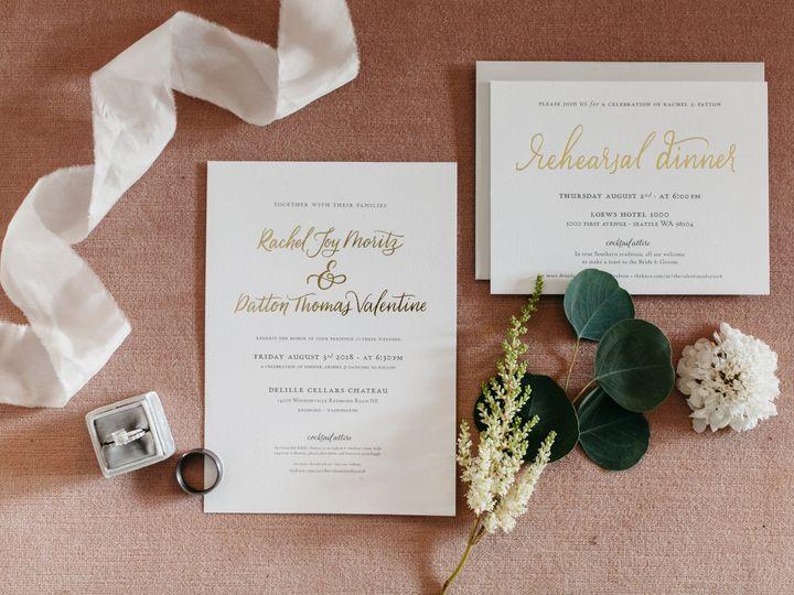 Tmx Patton Rachel Gettingready 062 51 1058995 1555694573 Seattle, WA wedding invitation