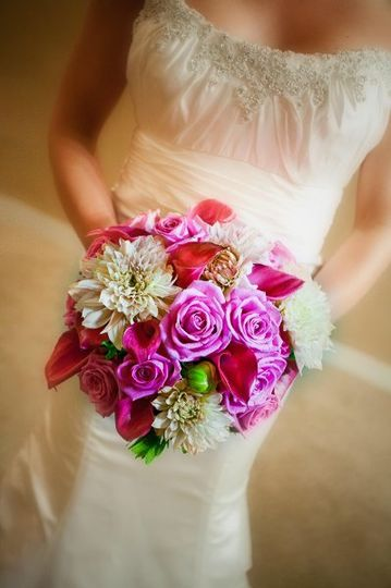Pink bouquet | Marlena Roslan Photographer