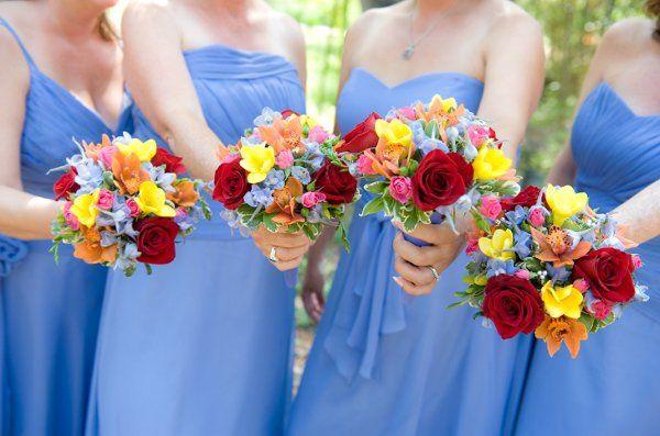 Multicolor bouquets