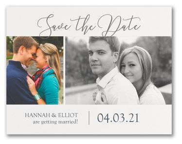 Save the date two pics
