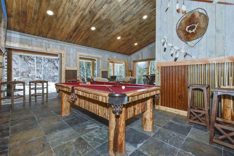 Lodge game room