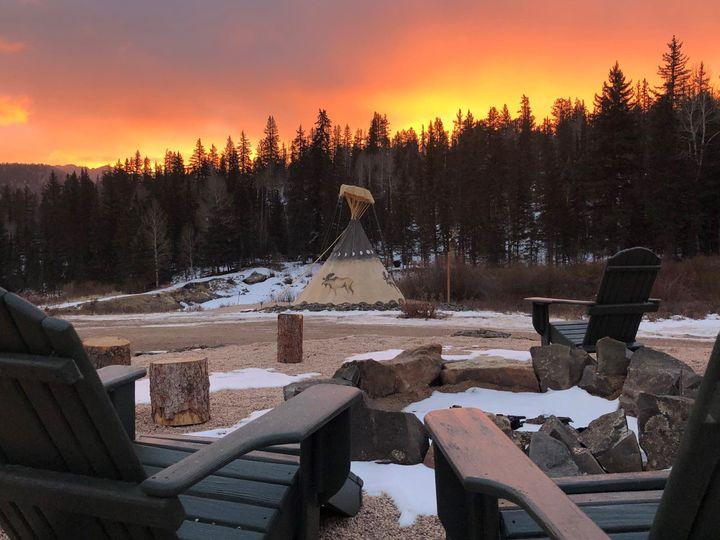 Tmx Bpl Appleton Moose Tipi Sunrise 51 1899995 157601347638257 Lake George, CO wedding venue