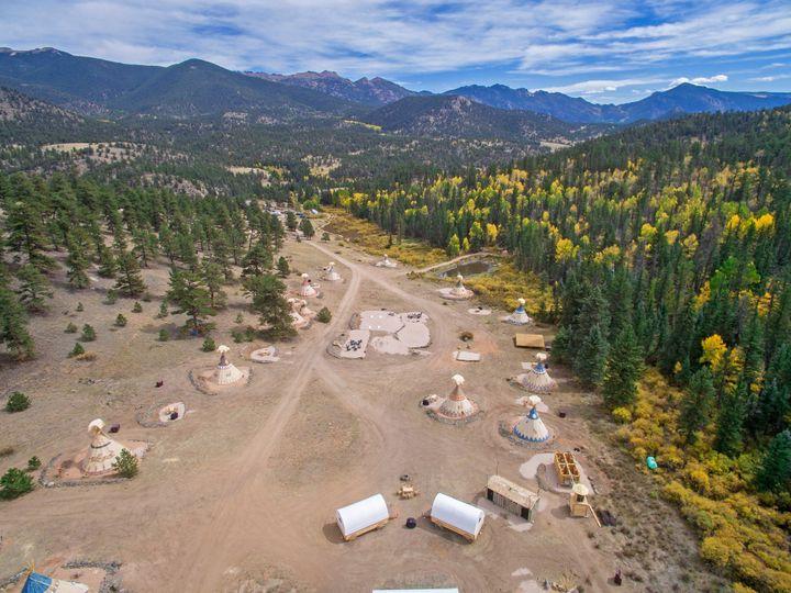Tmx Campground Aerial 51 1899995 157601357665003 Lake George, CO wedding venue