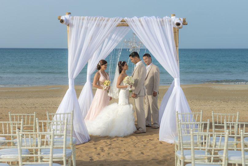wyndham grand rio mar beach wedding