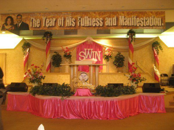 Sept 2009 conference setup
