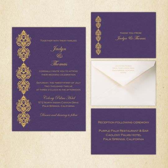 """Double Bloom"" is a stylish contemporary design, featuring beautiful Victorian styled flourishes..."