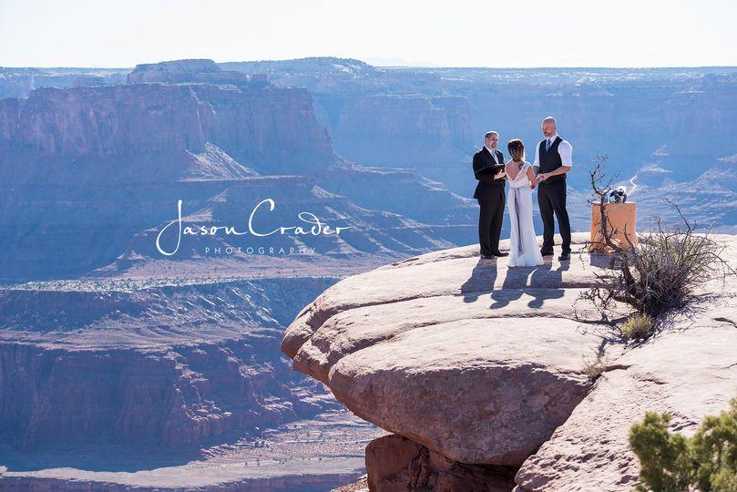 The open air wedding