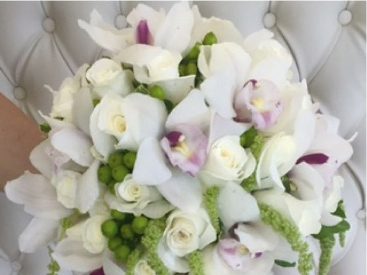 Tmx 1464880476024 Bridal Bouquet Orchids Fort Lee wedding florist