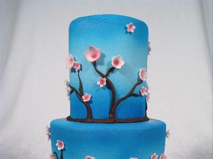 Tmx 1268626204769 CopyofCherryBlossom1 San Francisco wedding cake