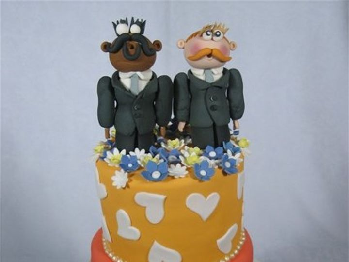 Tmx 1268626242769 LawrenceNick6 San Francisco wedding cake