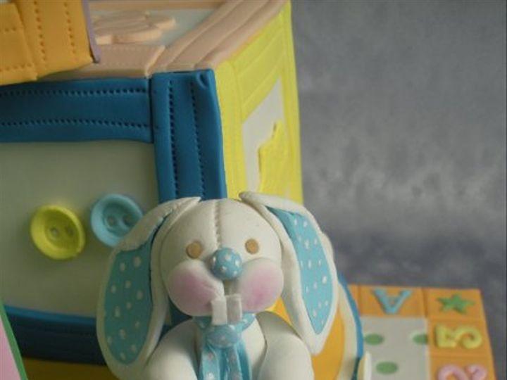 Tmx 1283354135465 Bunny1 San Francisco wedding cake