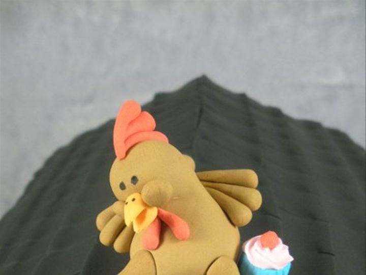 Tmx 1283354289450 ChickenTopper1 San Francisco wedding cake