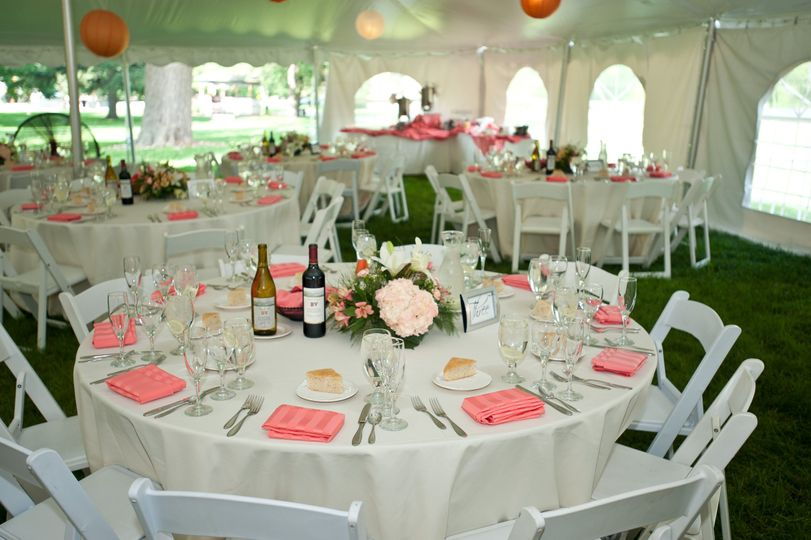 Tented Reception Space