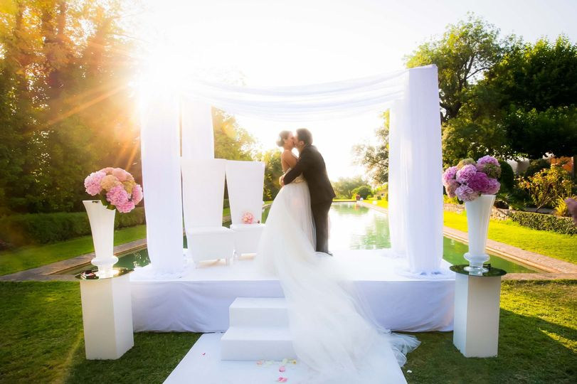 glamour wedding photography