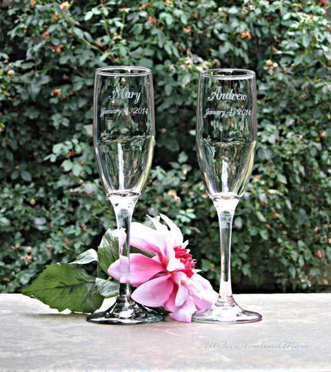 champagne flutes 2