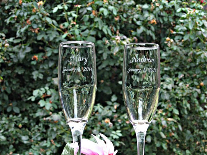 Tmx 1432329210835 Champagne Flutes 2 Slidell wedding favor