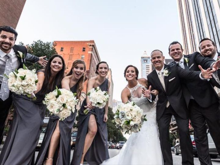 Tmx Bridal Party City Plaza 51 63106 V1 Raleigh, NC wedding venue