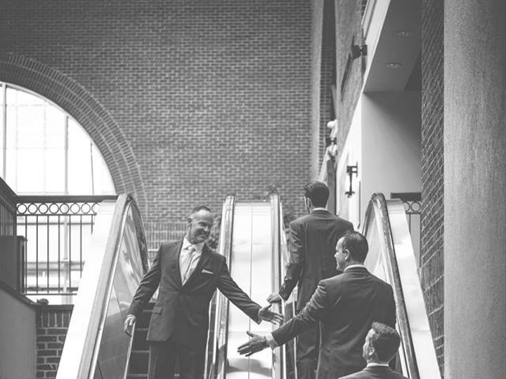 Tmx Groom On Escalators 51 63106 V1 Raleigh, NC wedding venue