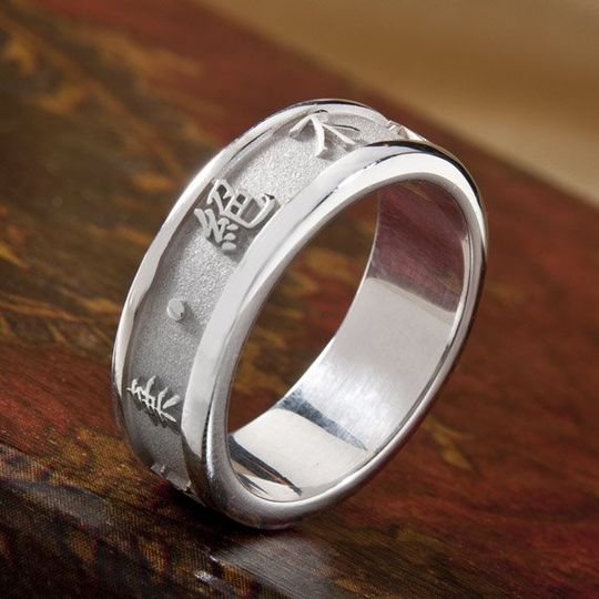 Personalized Chinese Symbol Ring