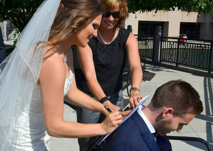 canal wedding indy wedding officiants