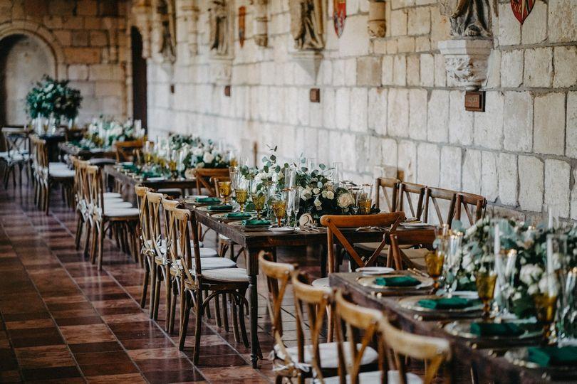 Spanish Monastery Wedding