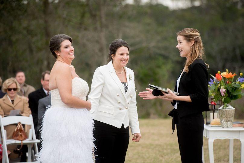 Wedding day joy (Beacon Photo)