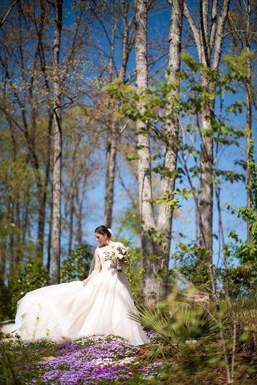 A woodland wedding (Beacon Photo)