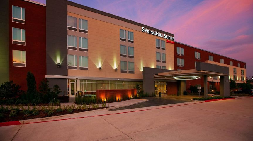 Exterior view of SpringHill Suites Houston The Woodlands