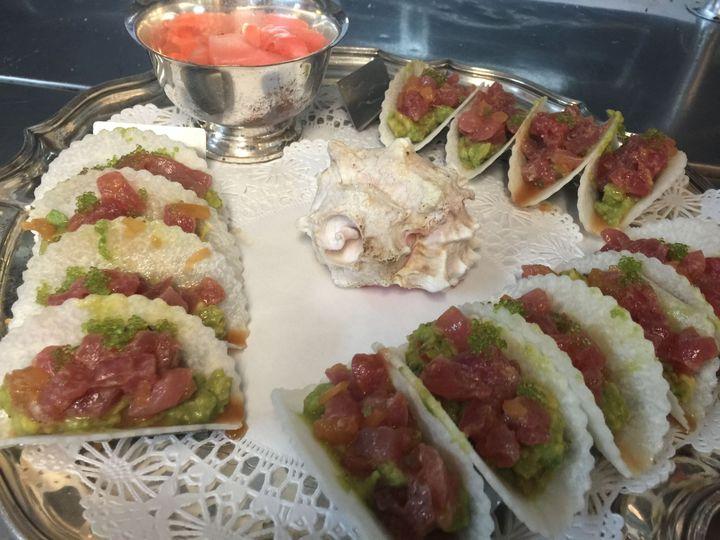 e40dbaa61fa9e404 Tuna Tacos in Jicama