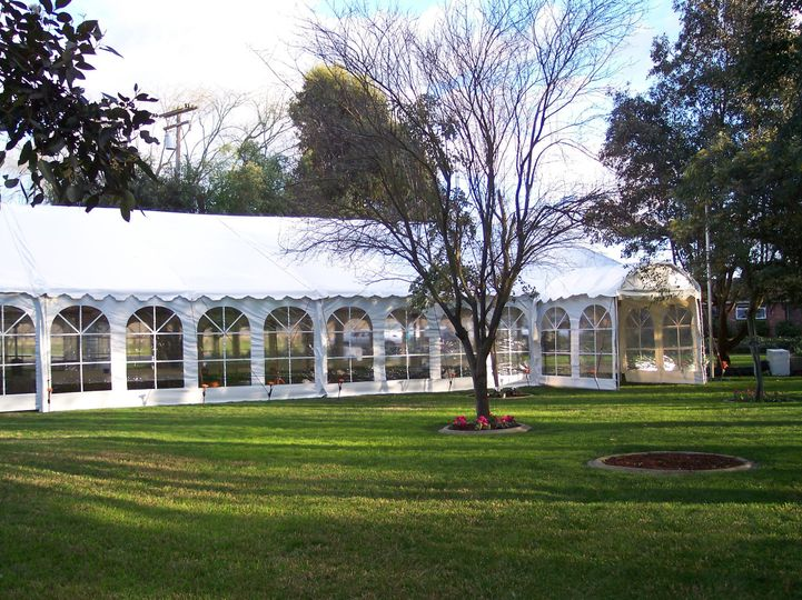 Our 50 x 100 Tent featuring Cathedral walls in each 5 foot section provides a beautiful and spacious...