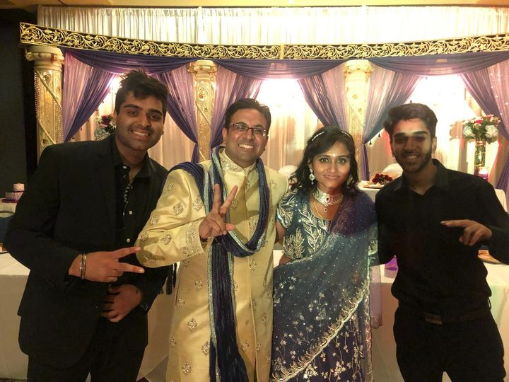 Arun And Praxi Newly Wed