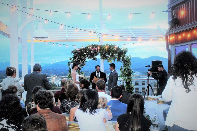 Ceremony on the Balcony