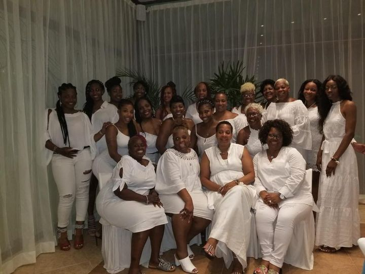 Tmx Girls Group White Party 51 649106 Martinsburg, WV wedding travel