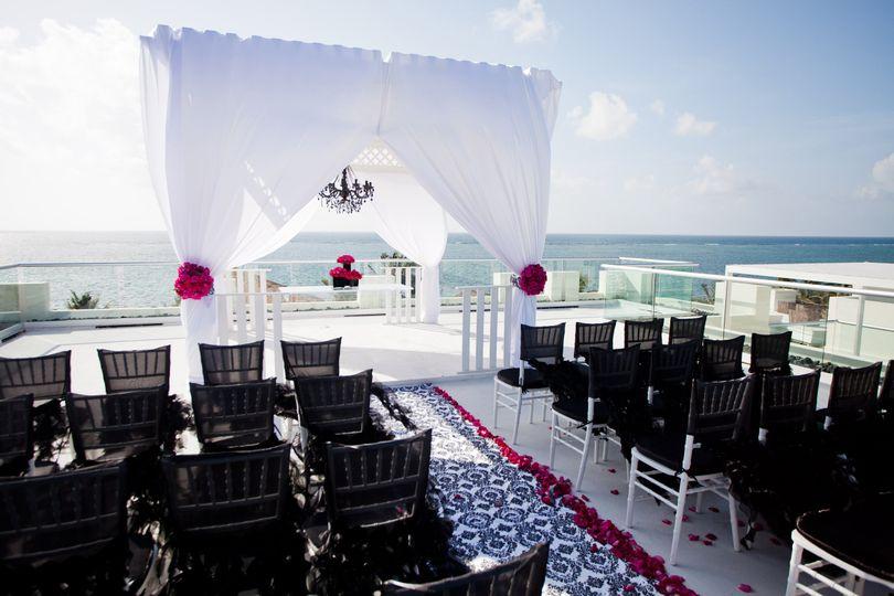 Wedding Setup Mexico