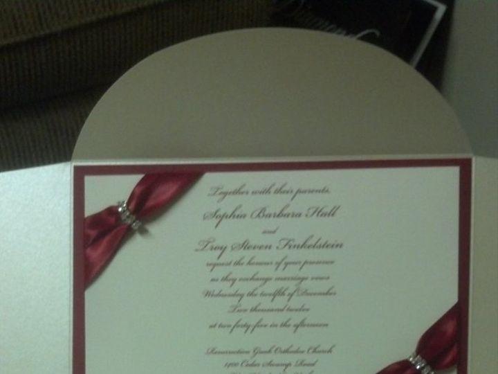 Tmx 1354652324823 20120919100345372 West Babylon wedding invitation