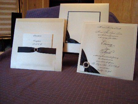 Tmx 1356014677015 0011 West Babylon wedding invitation