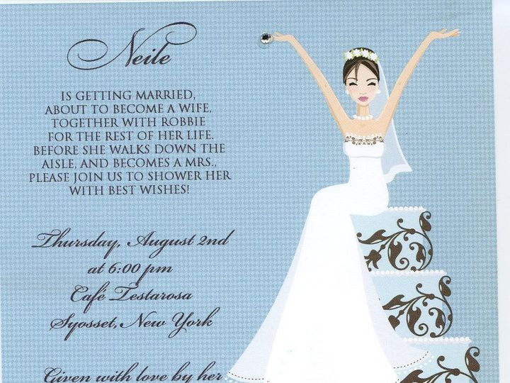 Tmx 1361659481184 Img048 West Babylon wedding invitation