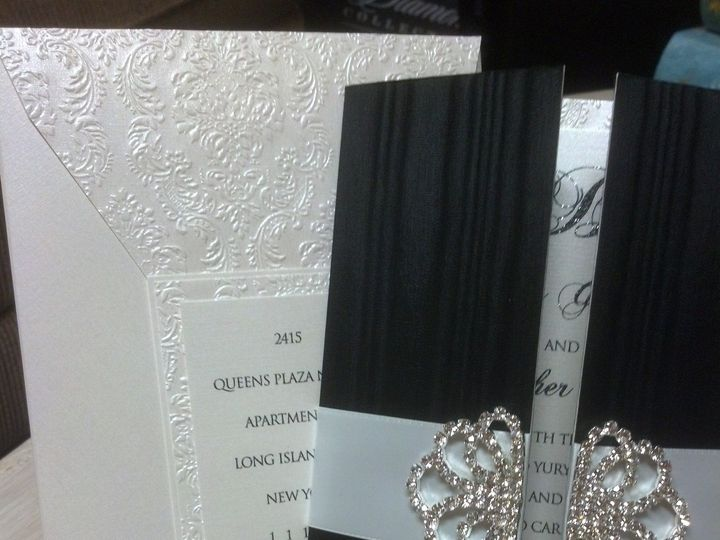 Tmx 1375290807617 Img20130728160017562 West Babylon wedding invitation