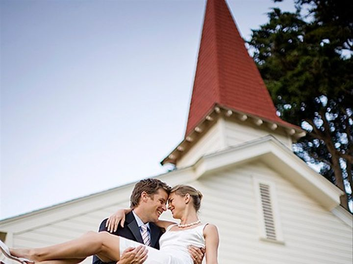 Tmx 13 Couple In Front Of Chapel 720x480 51 141206 1565646980 Sausalito, CA wedding venue