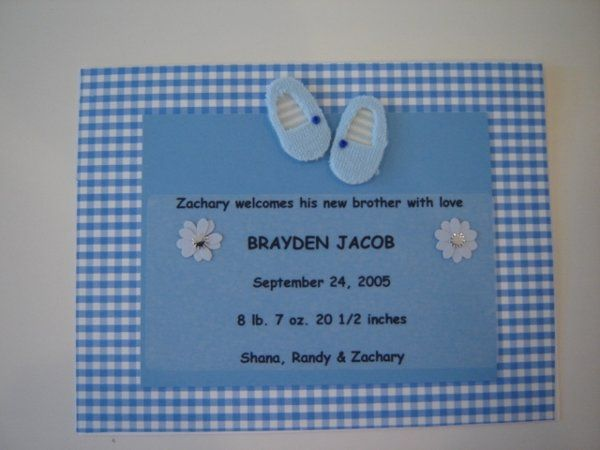 Tmx 1214955576433 BraydenJacobShoes Announcement Middlebury wedding favor