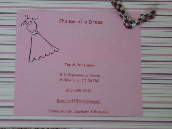 Tmx 1214955660292 Changeofadresspink Middlebury wedding favor