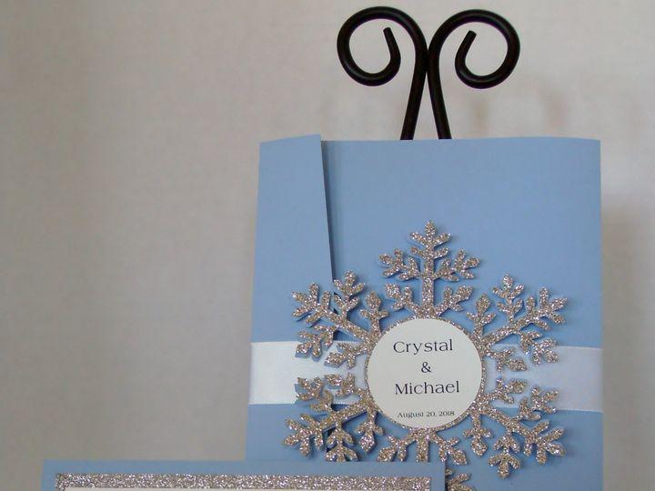 Tmx Frozen Winter 51 372206 Moreno Valley, CA wedding invitation