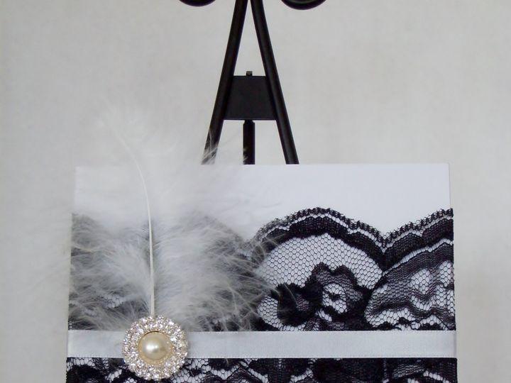 Tmx Gatsby Glamour Roaring 20s Only 51 372206 Moreno Valley, CA wedding invitation