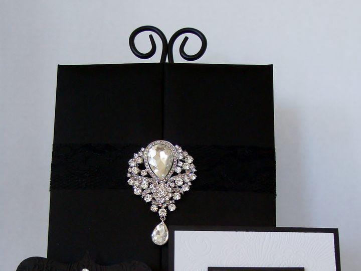 Tmx High Style Gatefold Invitation Closed 51 372206 Moreno Valley, CA wedding invitation