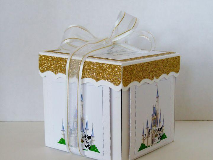 Tmx Mickey Minnie Wedding Exploding Box Invitation Bow 51 372206 Moreno Valley, CA wedding invitation