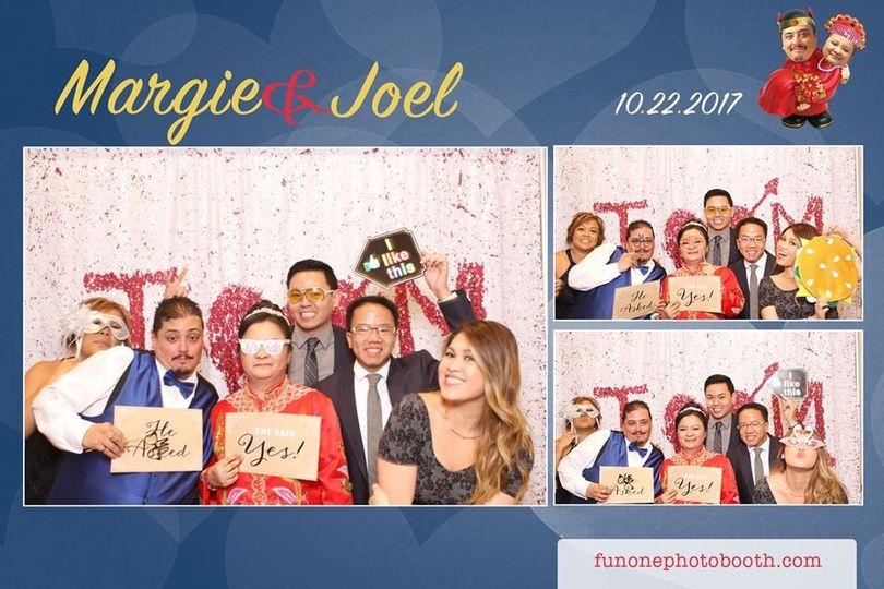 Margie And Joel's celebration