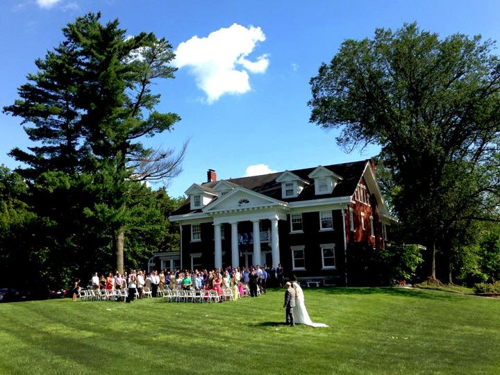 Our stately century-old Georgian colonial mansion will be a breathtaking backdrop for your special...